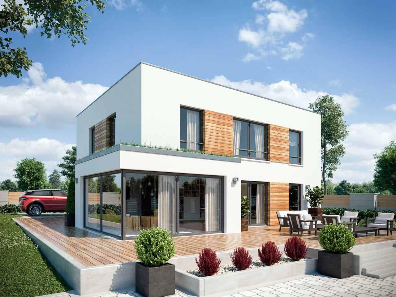 Einfamilienhaus Vario4Plus Extravagant von TALBAU-Haus