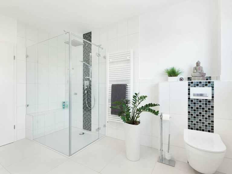 Badezimmer - Bungalow Unikat 140 von TALBAU-Haus