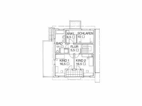 Einfamilienhaus Unikat 089 von TALBAU-Haus Grundriss OG