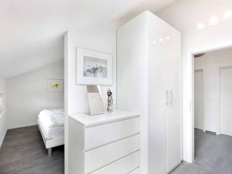 Schlafzimmer - Einfamilienhaus Unikat 089 von TALBAU-Haus