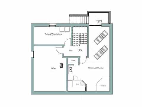 Kubus Haus Unikat 082 - Maleck von TALBAU-Haus Grundriss KG