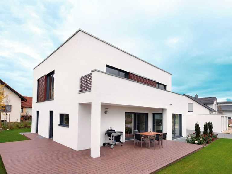 Kubus Haus Unikat 082 - Maleck von TALBAU-Haus Außenansicht 2