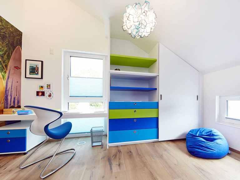 Jugendzimmer - Musterhaus Bad Vilbel von OKAL Haus