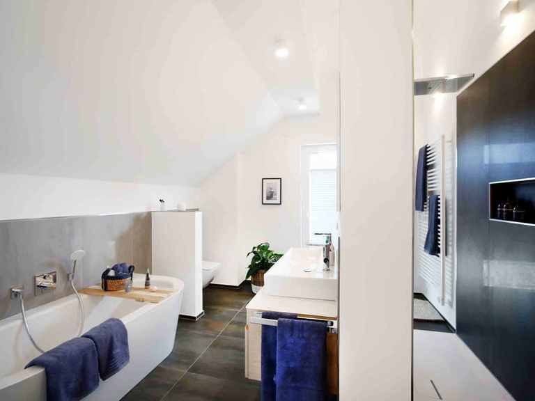 Musterhaus Langenhagen - OKAL Haus Badezimmer