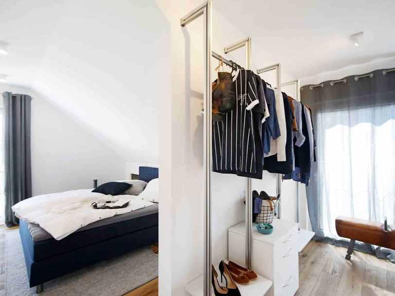 Musterhaus Langenhagen - OKAL Haus Schlafzimmer