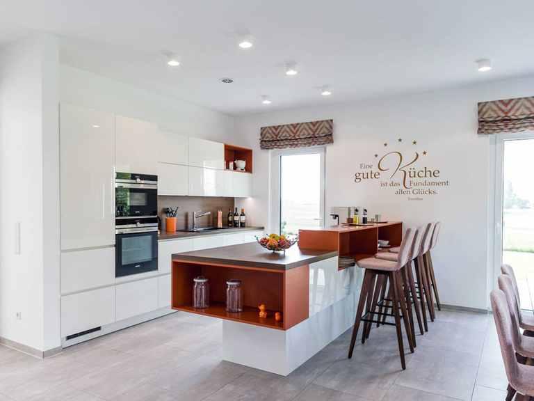 Küche - Musterhaus Schkeuditz von OKAL Haus