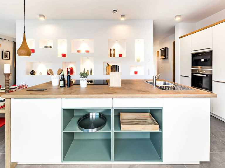 Küche - Musterhaus Fellbach von OKAL Haus