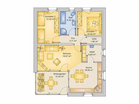 Musterhaus 8 Grundriss