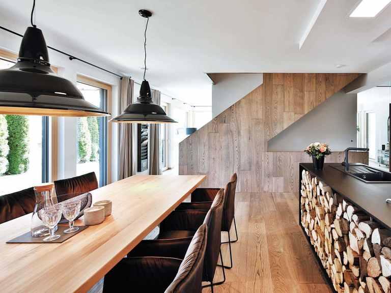 Regnauer Hausbau Musterhaus Heidi, Küche