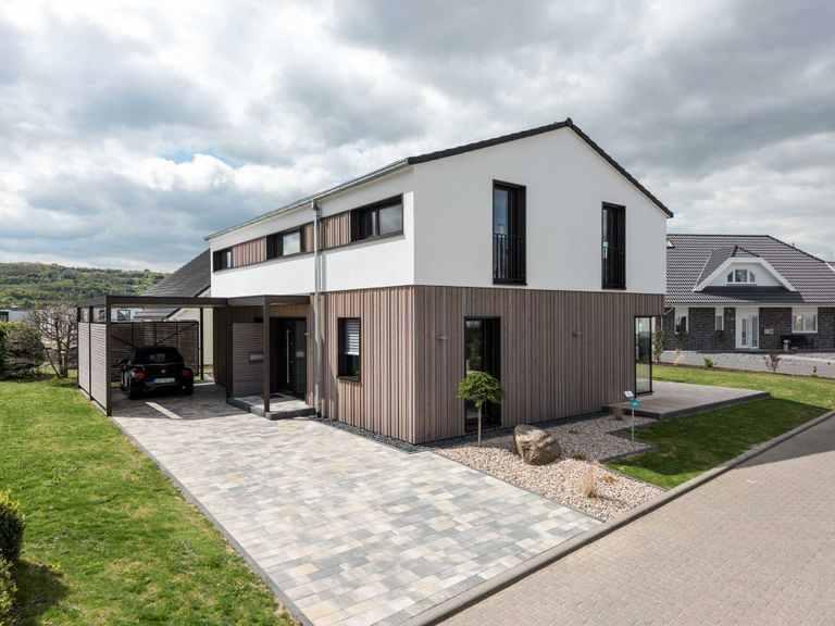 Musterhaus Design 183 von Frammelsberger Holzhaus