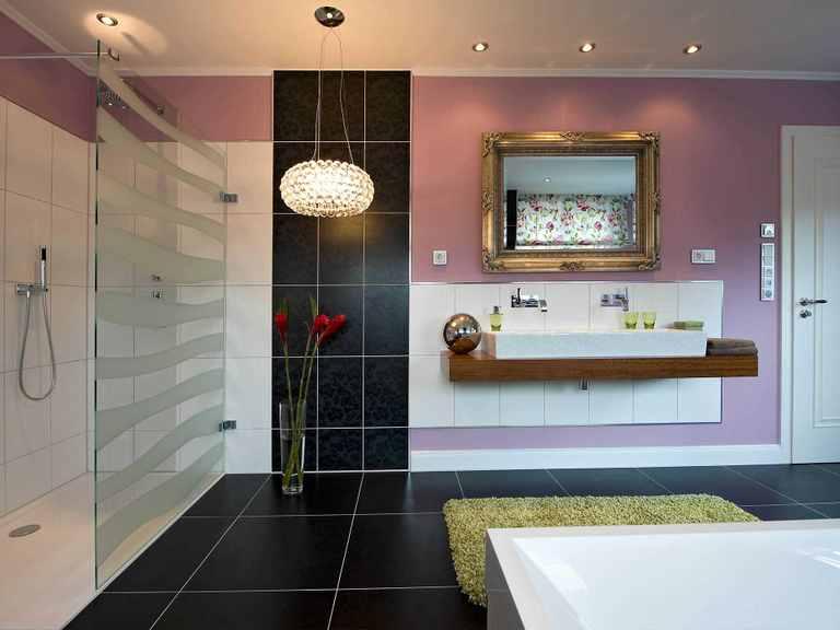 Musterhaus Falkensee Badezimmer