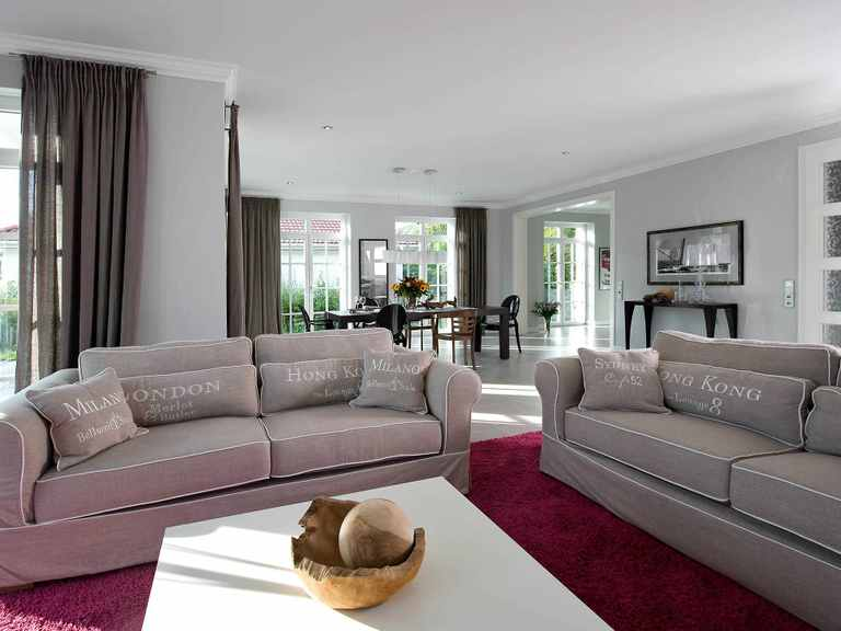 Musterhaus Falkensee Wohnzimmer