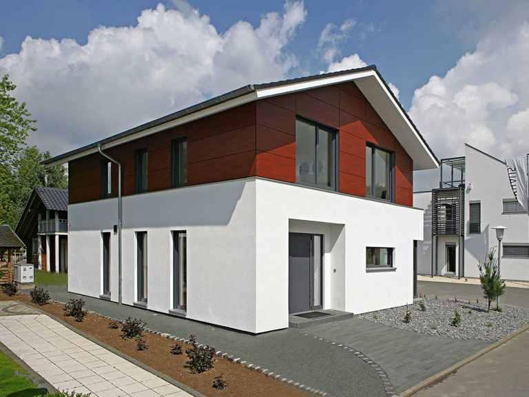 Bittermann & Weiss Holzhaus - Musterhaus Mannheim Eingang