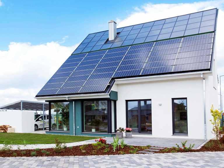 Das EnergieAutarkeHaus weitere Ansicht