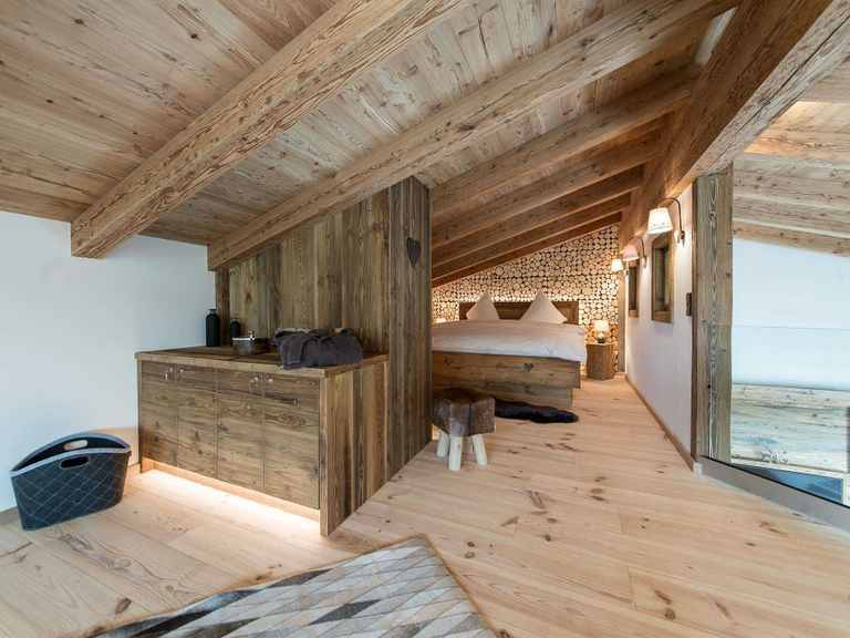 Tirolia - Chalet Tirolia Schlafzimmer 1