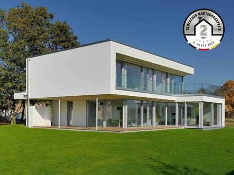 Kategorie Premiumhaus Platz 2 Musterhaus KUBOS