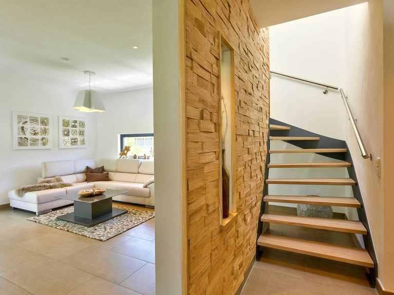 Büdenbender Hausbau Musterhaus Brentano Flur