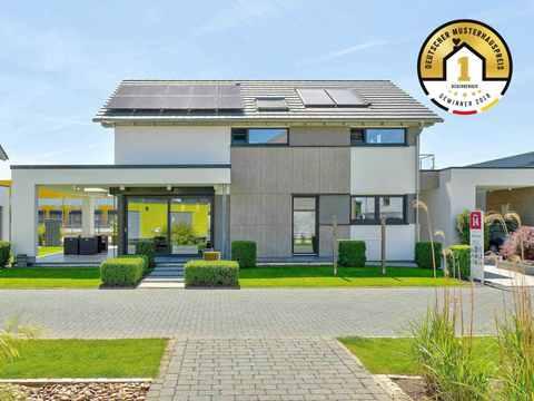 Kategorie Einfamilienhaus 1. Platz Musterhaus Brentano