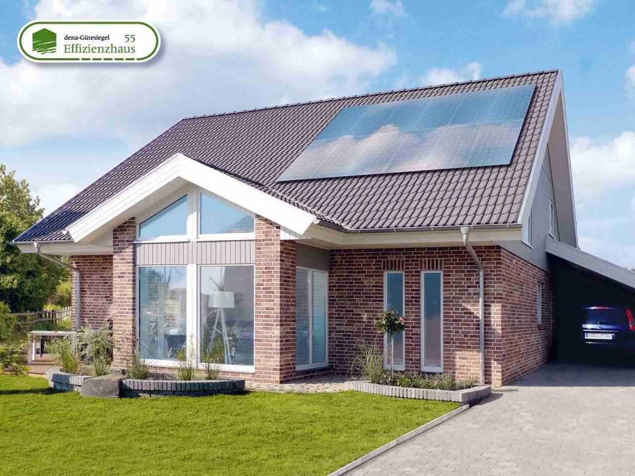 Musterhaus Engelsby - Danhaus Gartenansicht