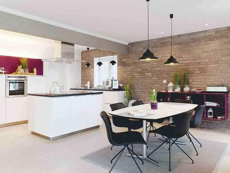 Musterhaus Engelsby - Danhaus Essbereich und offene Küche