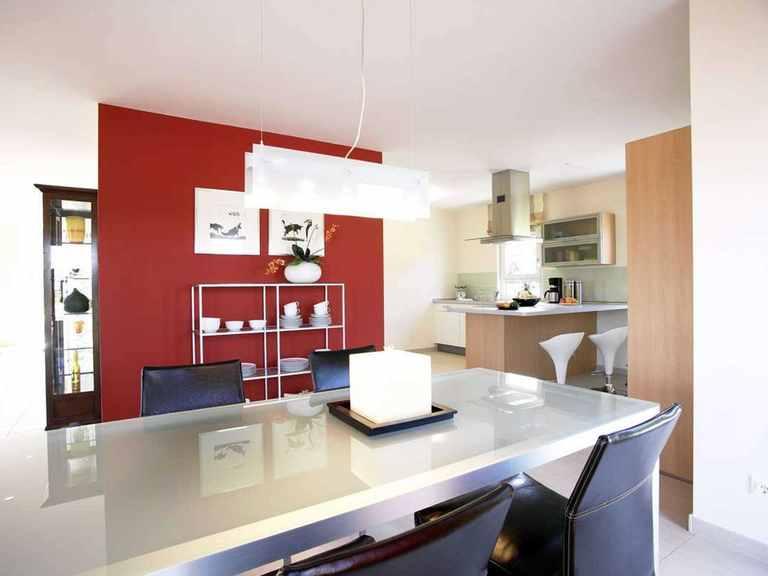 Musterhaus Family Classic - OKAL Haus Essbereich