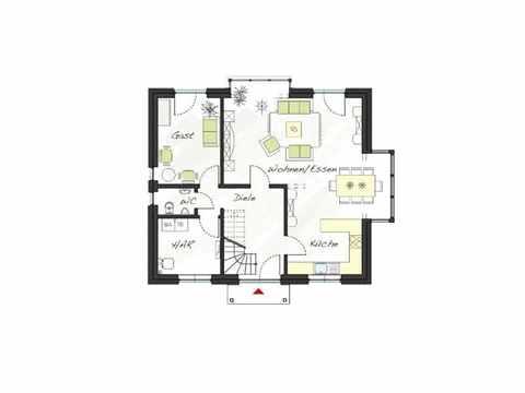 Musterhaus ProArt 152 Grundriss EG