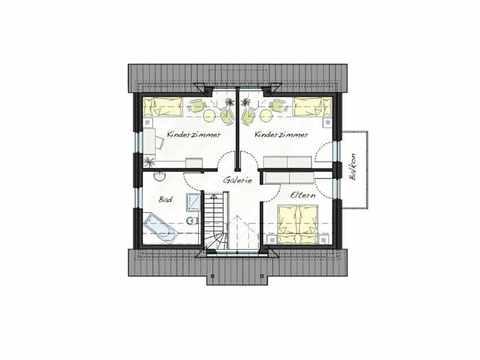 Musterhaus ProArt 152 Grundriss OG