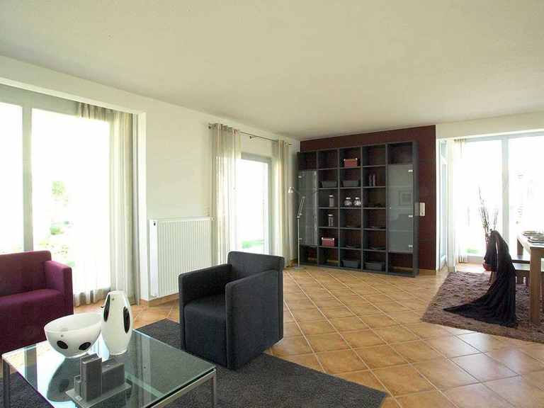 Musterhaus ProArt 152 - ProHaus Wohnzimmer