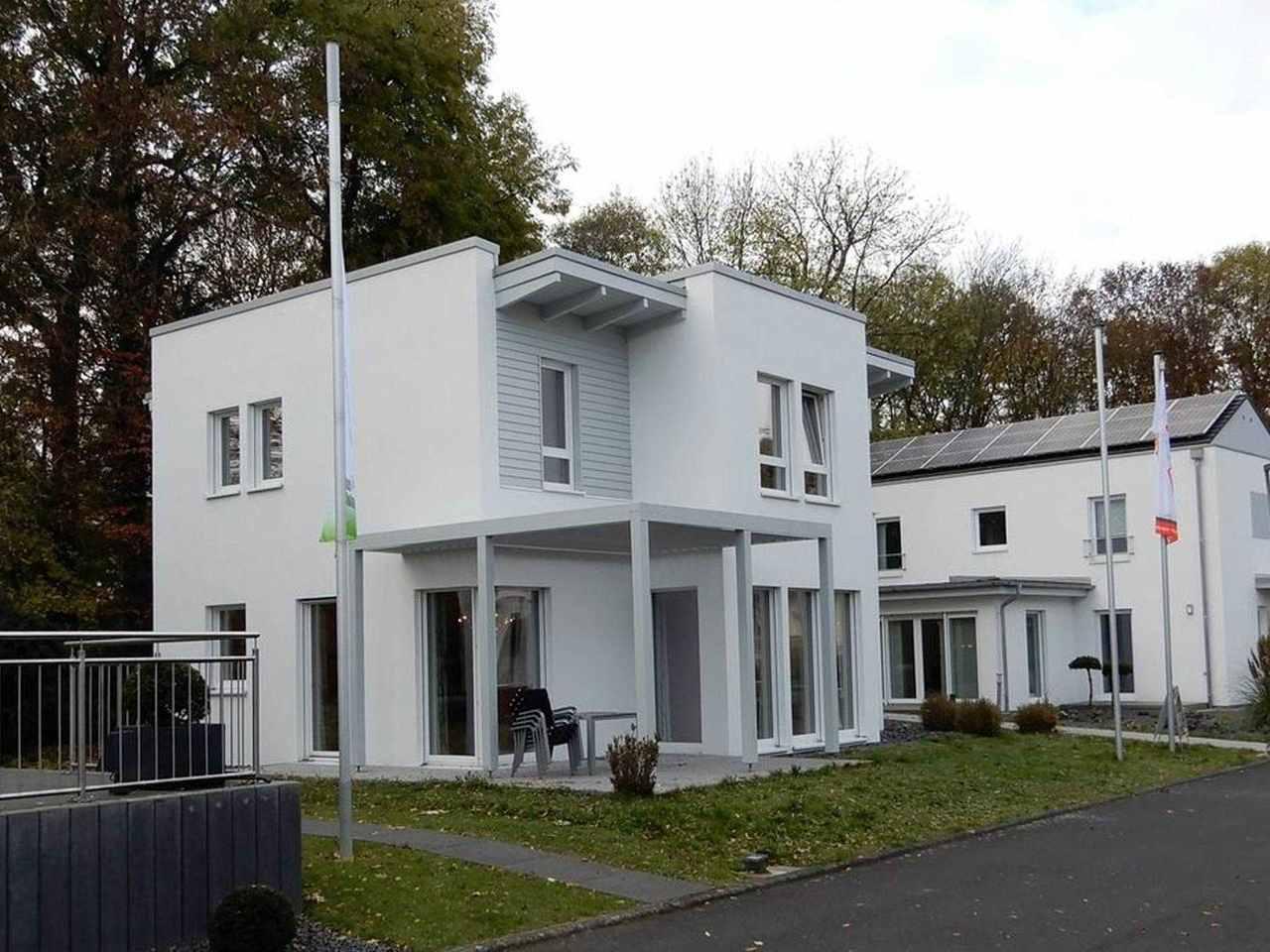 Musterhaus Bad Vilbel Eos 139 Terrasse
