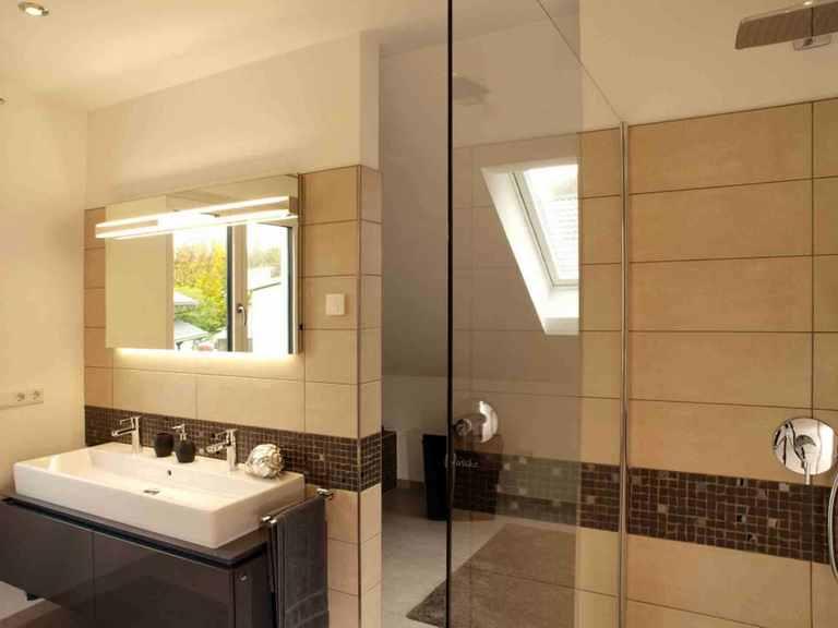 Musterhaus Da Capo Sonderplanung - Schwabenhaus Badezimmer