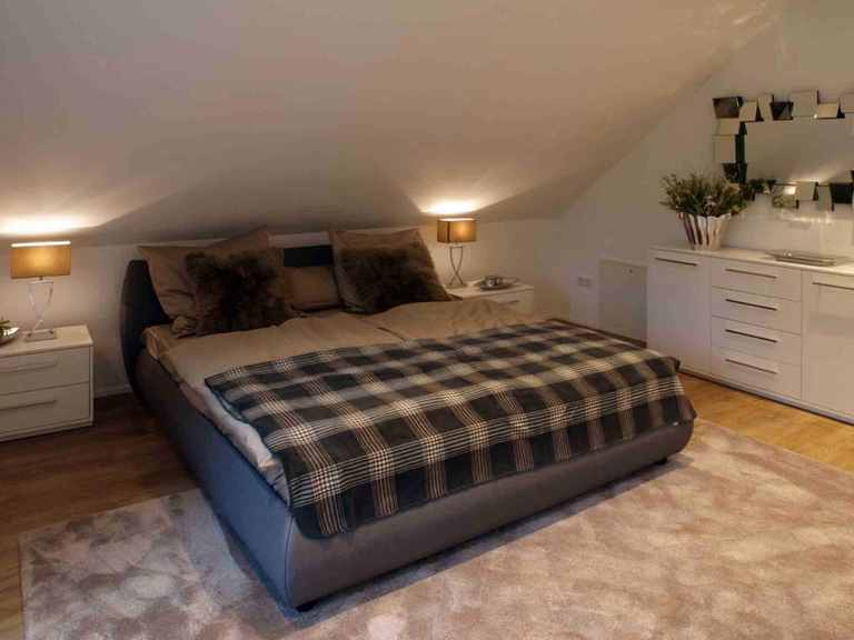 Musterhaus Da Capo Sonderplanung - Schwabenhaus Schlafzimmer