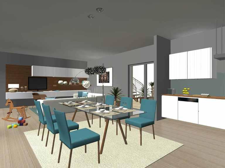 Classic 120 - GECCI Offene Küche und Essbereich