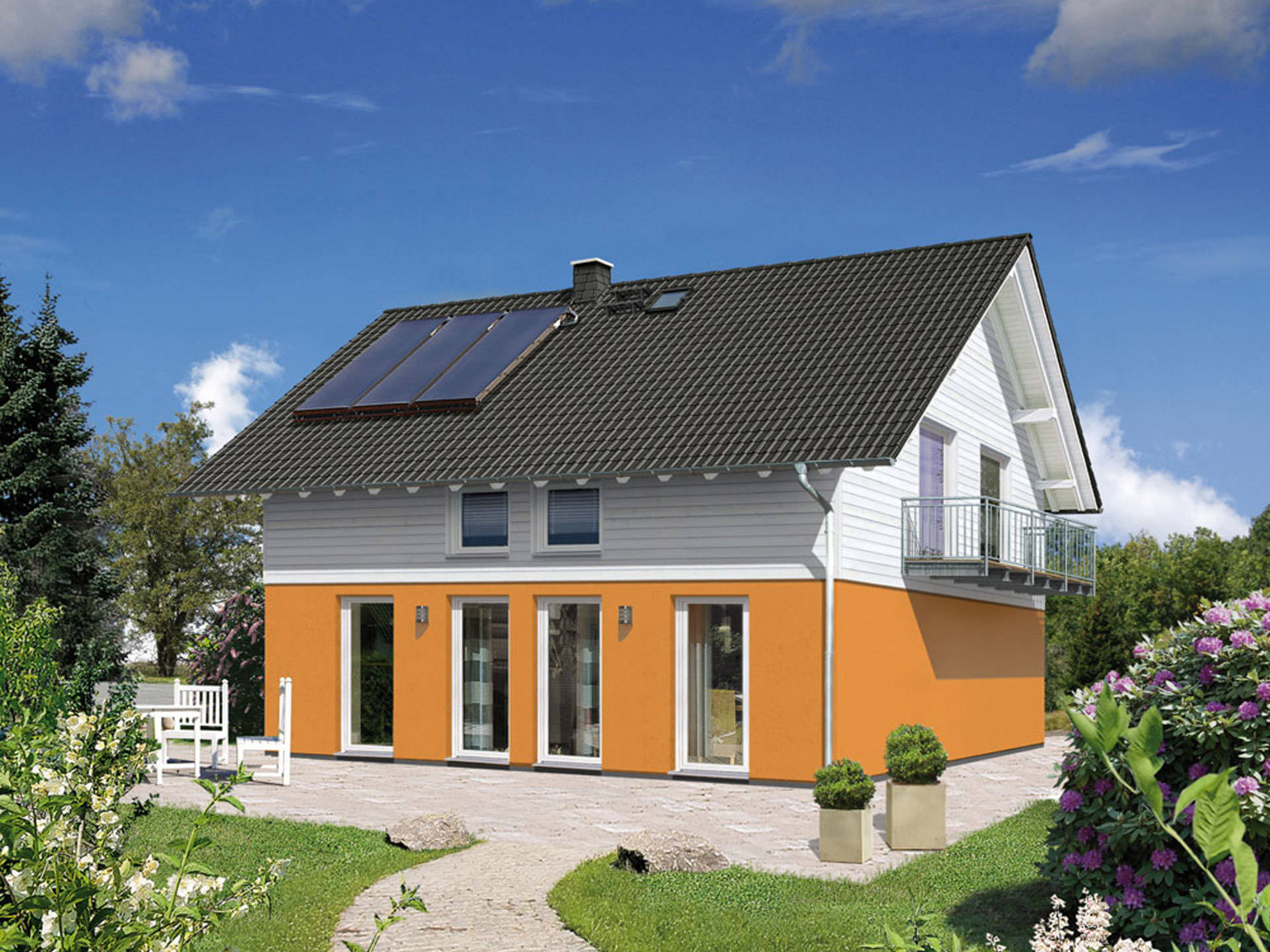 Haus flair 125 s ddeutschland town country haus for Haus mit flair