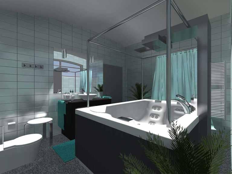 Comfort 310 - GECCI Badezimmer
