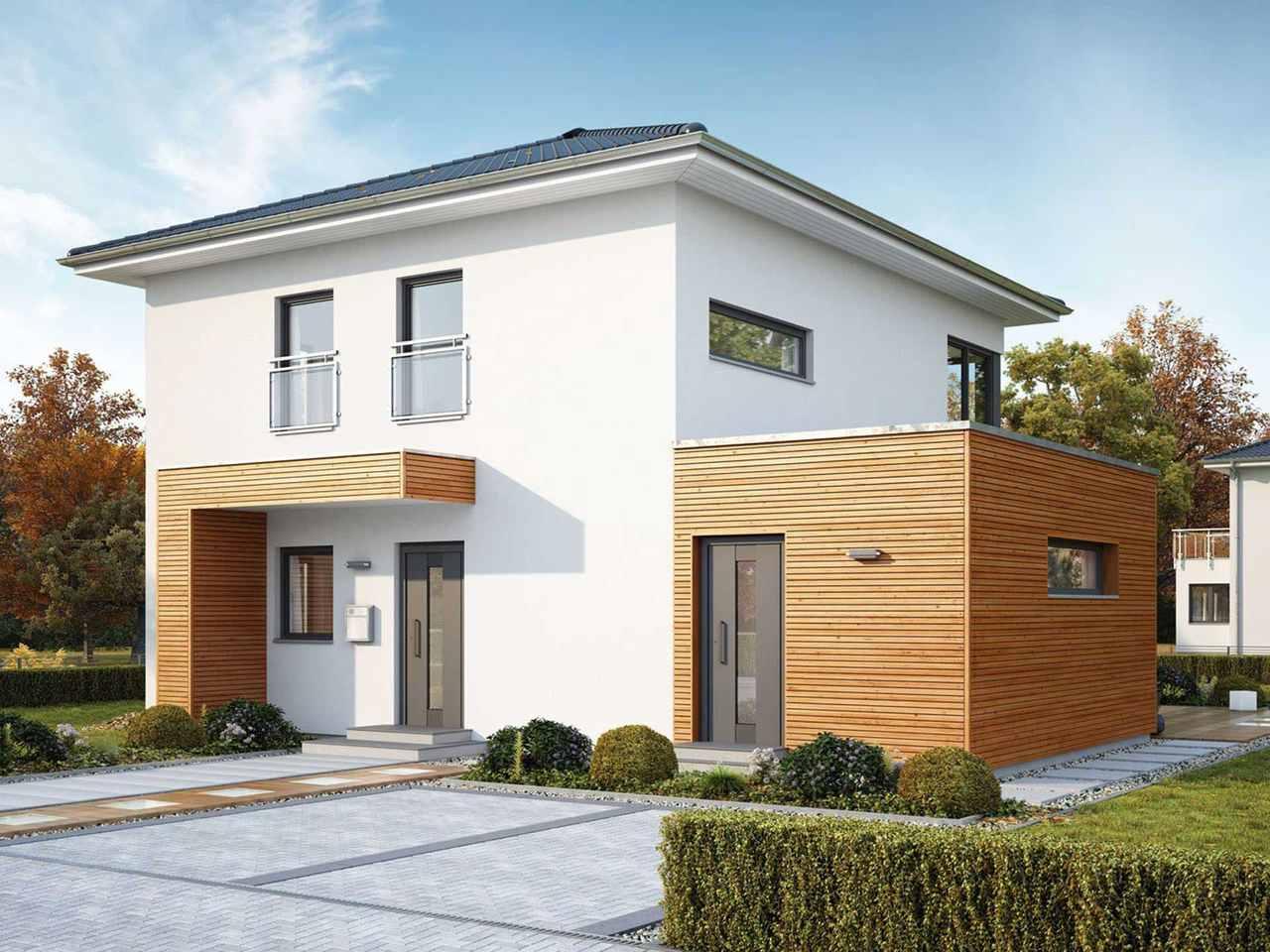 Stadtvilla ModernStyle 143 W Hauptansicht