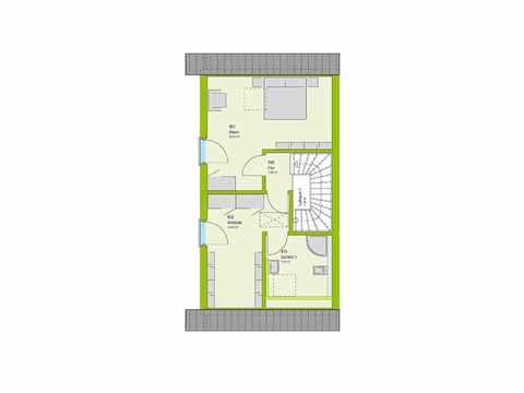 Doppelhaus Stadt-Special 04 Grundriss DG