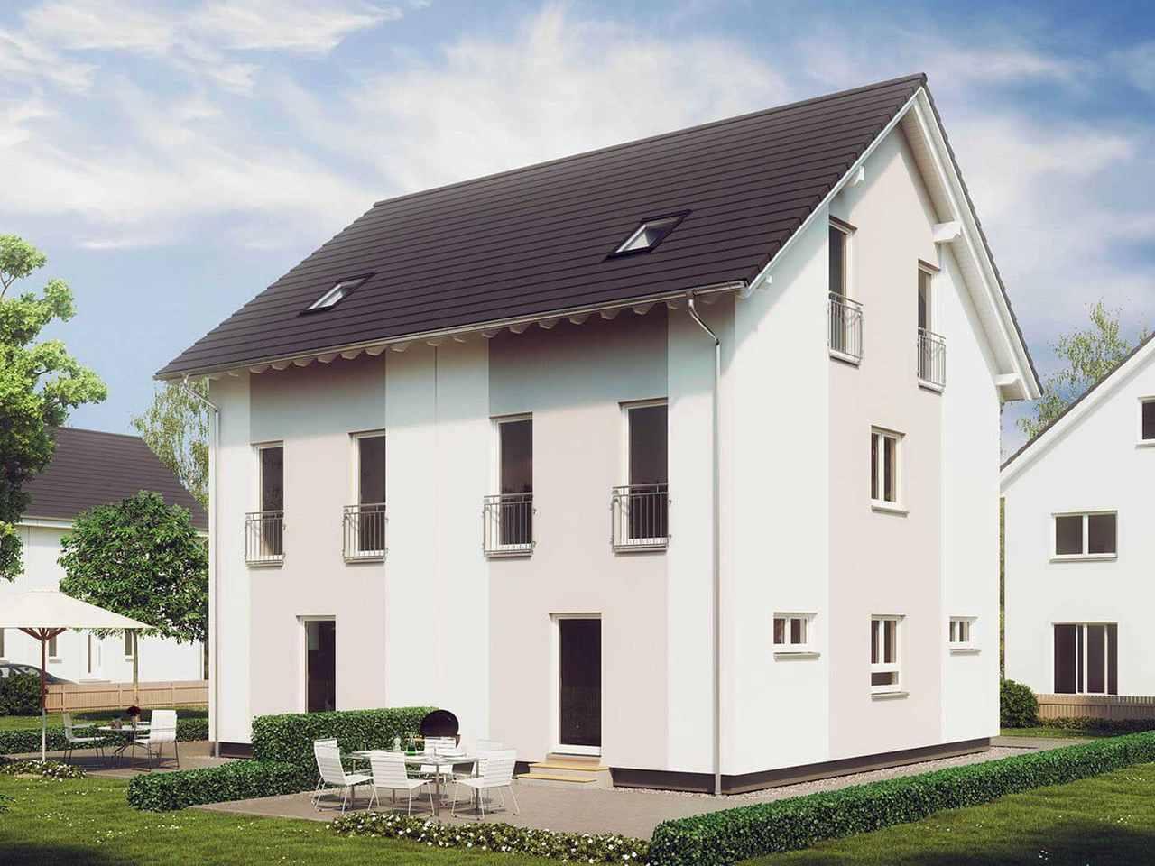 Doppelhaus Stadt-Special 04 Hauptansicht