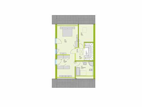Doppelhaus Stadt-Special 05 Grundriss DG