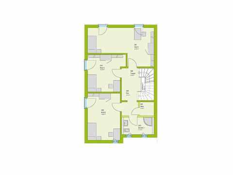 Doppelhaus Stadt-Special 05 Grundriss OG