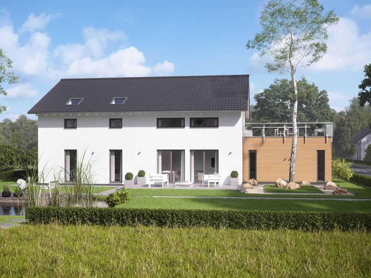 Mehrgenerationenhaus LifeStyle 15 Garten