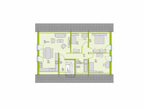 Mehrgenerationenhaus LifeStyle 15 Grundriss DG