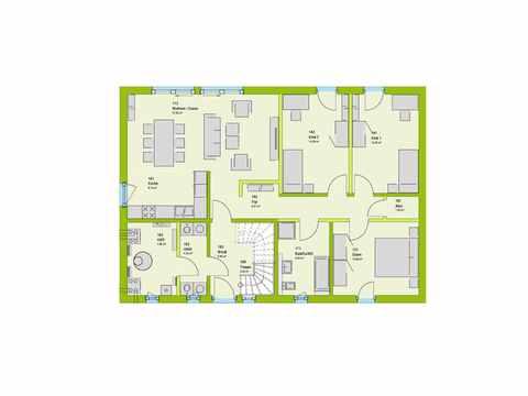 Mehrgenerationenhaus LifeStyle 15 Grundriss EG