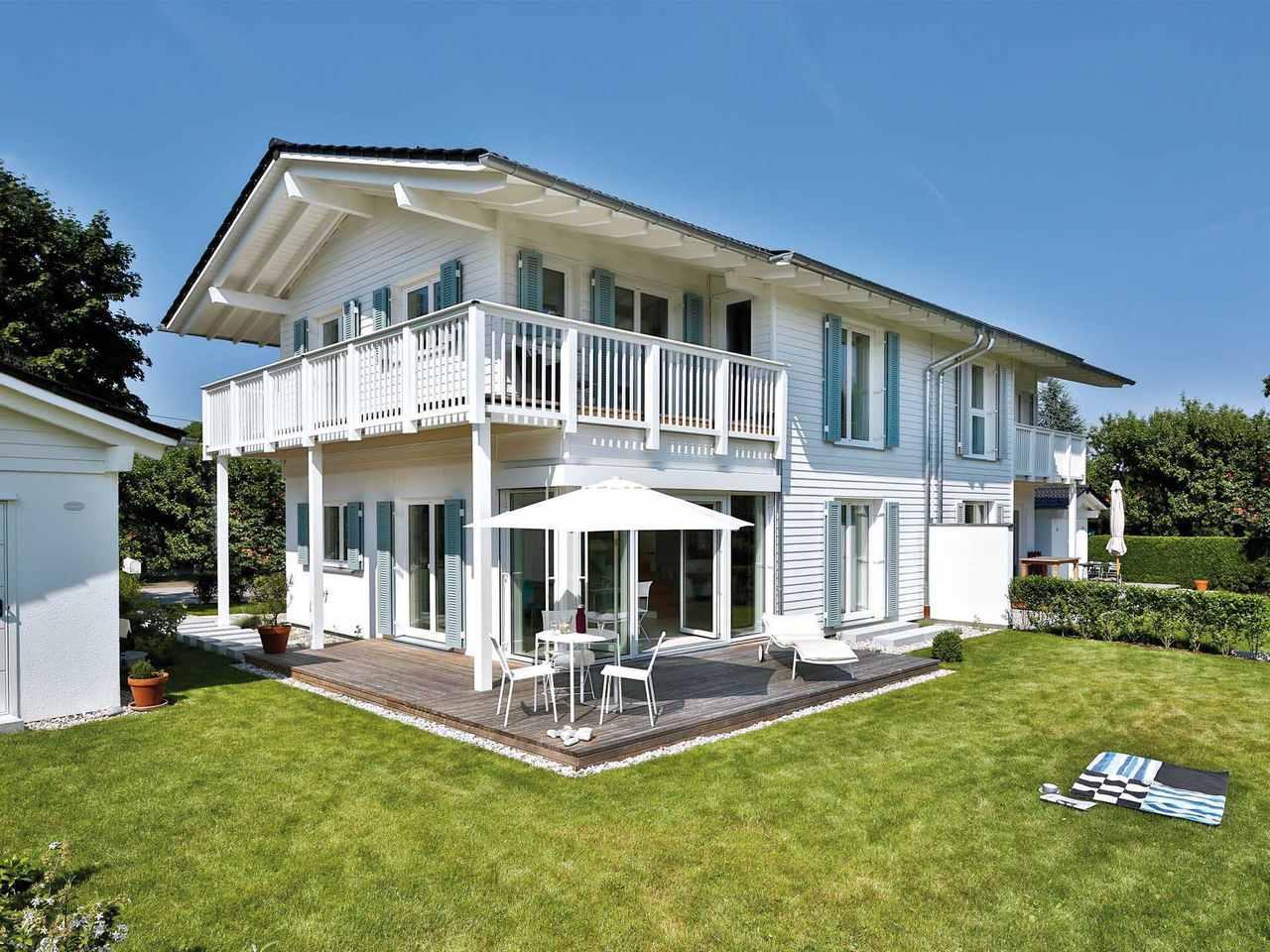 Doppelhaus Breitbrunn Hauptansicht