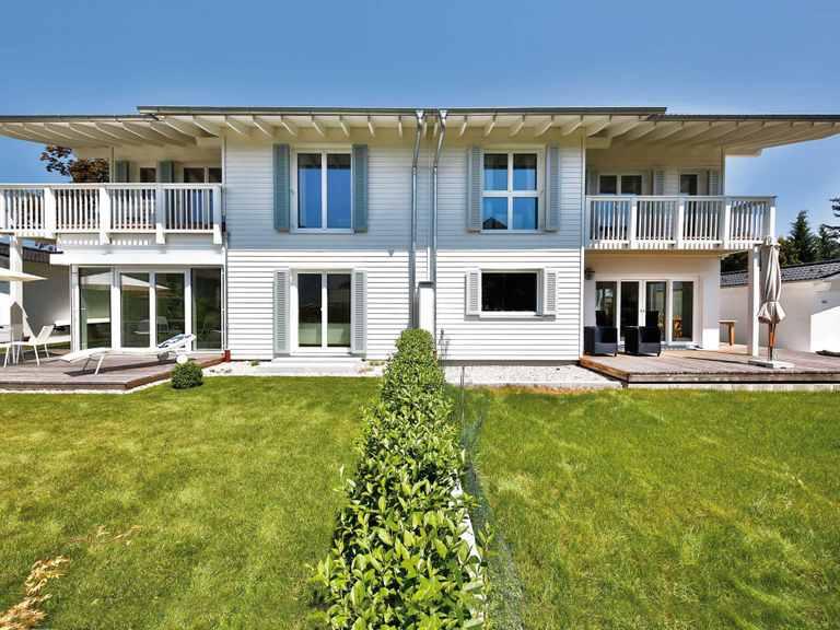Doppelhaus Breitbrunn - Regnauer Hausbau Garten