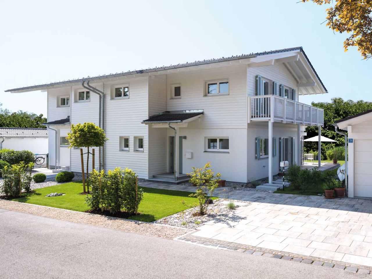 Doppelhaus Breitbrunn Fernsicht