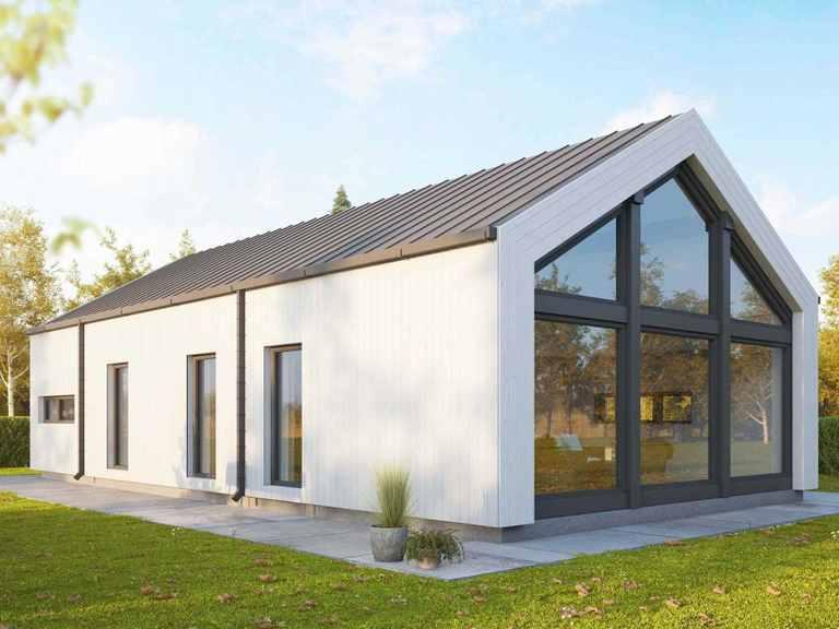 Holzhaus Belenus Finnlog Deutschland Aussenansicht 2