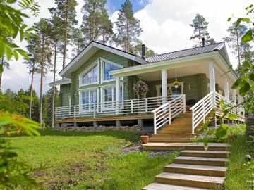 Holzhaus Indra - Finnlog Deutschland