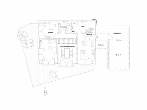 Einfamilienhaus Glonn Grundriss EG