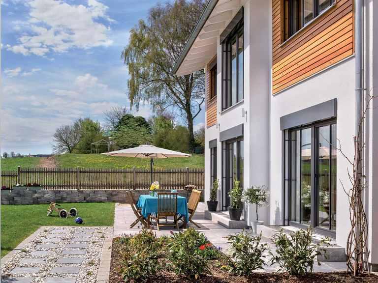 Einfamilienhaus Glonn - Regnauer Hausbau Terrasse