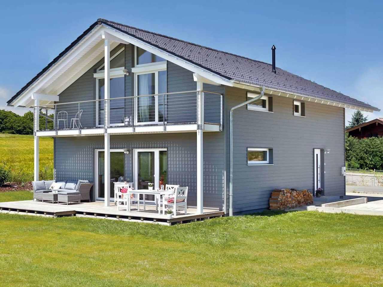 Einfamilienhaus Lautrach Hauptansicht
